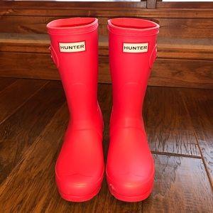 Hunter Short Rain Boots Size 5